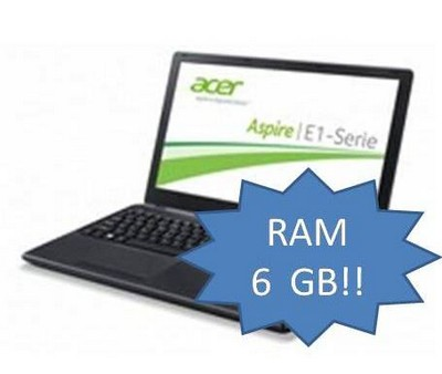 ACER NOTEBOOK E1-530-21174G50MNKK (NX.MEQET.001) UPGRADE 6GB copia